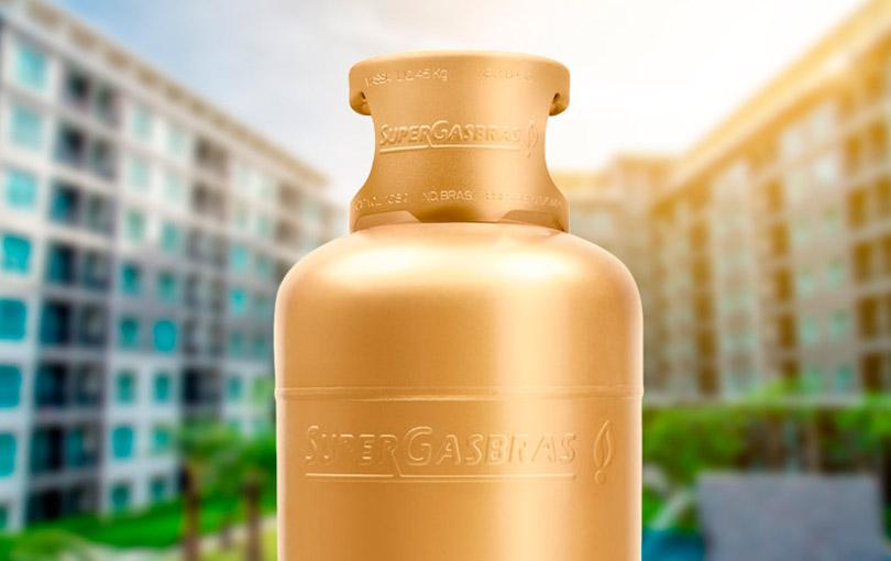 o gás ideal para o seu  condomínio