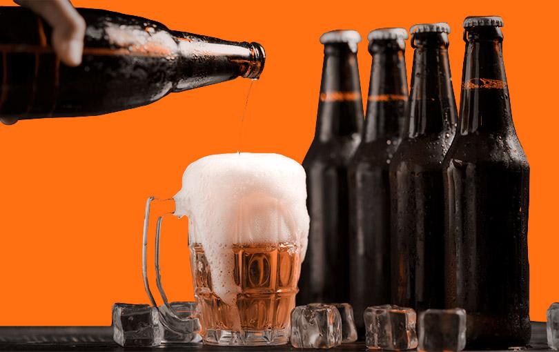bebidas em bares